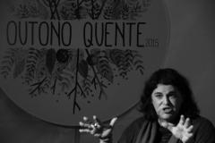 À conversa com Amélia Muge, moderada por João Oliva | Fotografia: Jorge Paulo